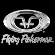 Flying Fisherman Logo black background